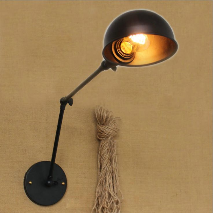 Fashion Style Retro Iron Wall Lamp Simple