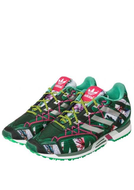Mary Katrantzou x Adidas | Bomfared Equipment Racer Sneaker Green|  Hervia.com