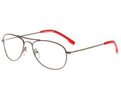 Armação Óculos de Grau Colcci 5509 Chumbo com Bordô Unissex