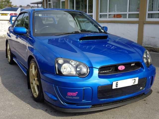 2004 Subaru Impreza 2.0 WRX STI TYPE UK. WR BLue. Low mileage, Prodrive extras, 340 BHP. Click on pic shown for loads more.