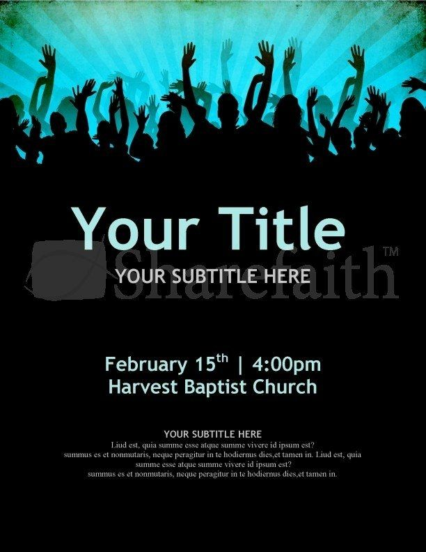 Church Revival Flyer Template Free Sazakmouldingsco Flyer Template Flyer Free Flyer