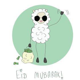 Alaa ثيمات وتصاميم وتوزيعات لعيد الاضحى جاهزه للطباعه Eid Eid Stickers Eid Greetings