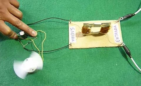 Como fazer um transformador elétrico. #ProjetosEscolares Via:Muy Fácil De Hacer