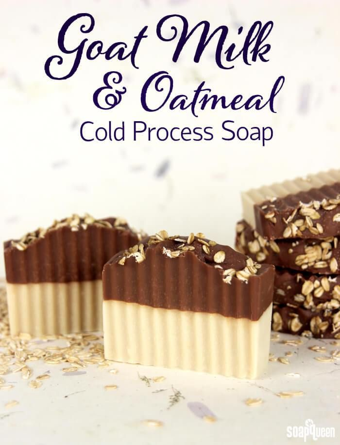 Goat Milk & Oatmeal Cold Process Soap Tutorialrn