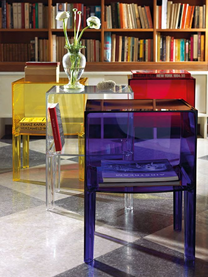 Kartell Small Ghost Buster Side Table By Philippe Starck