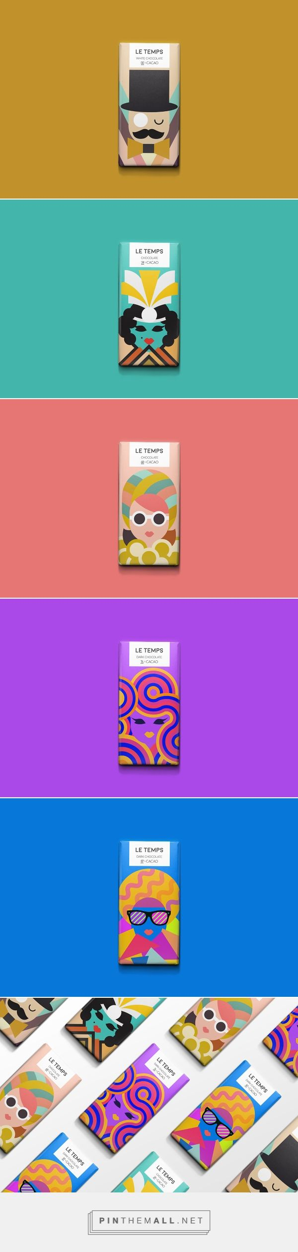 Le Temps Chocolate on Behance by Meetar Panesar, San Francisco, CA curated by Packaging Diva PD. Concept chocolate packaging for the smile file : )