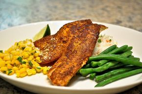 Pecan-Crusted Tilapia with a Rum-Butter-Citrus Sauce