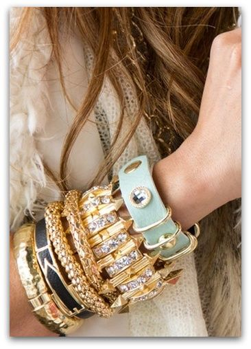 ~: Arm Candy, Style, Armparti, Stacking Bracelets, Armcandi, Bangles, Accessories, Arm Parties, Bling Bling