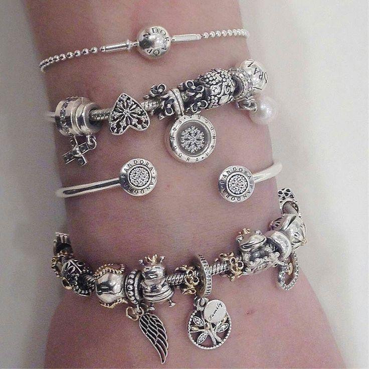 #Repost @pandorachinook Bracelets on bracelets #Pandora #yyc #saturdaynight #jewelry