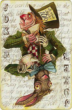 New Holland Brewing: Hatter Ball Joker Card by Darick Maasen
