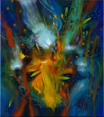 2013 El yagé es un rito de purificación que ha despertado interés por el colorido de las visiones que genera, particularidad que el pintor ha sabido llevar con personalidad a sus lienzos, convirtiéndolo en uno de los artistas más interesantes entre los surgidos en las dos últimas décadas y quizás en el más popular.