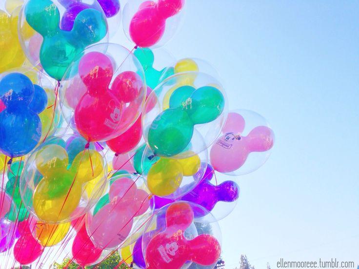 Disney Balloons | Eh. Seh. Cute | Pinterest | Disney, Disneyland and Disney balloons