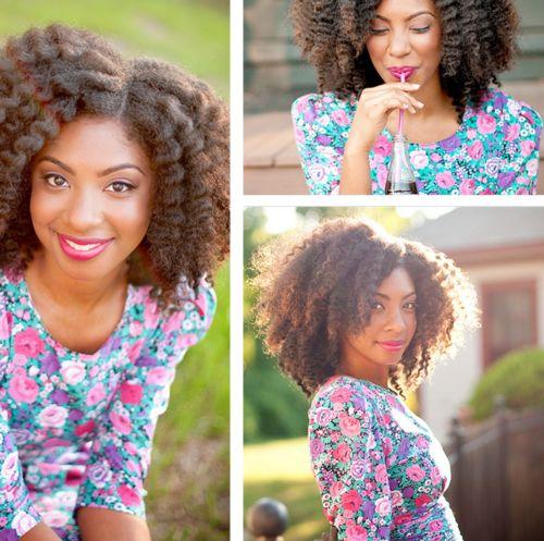 Hair Crush: Natural Chica's Nikkimae