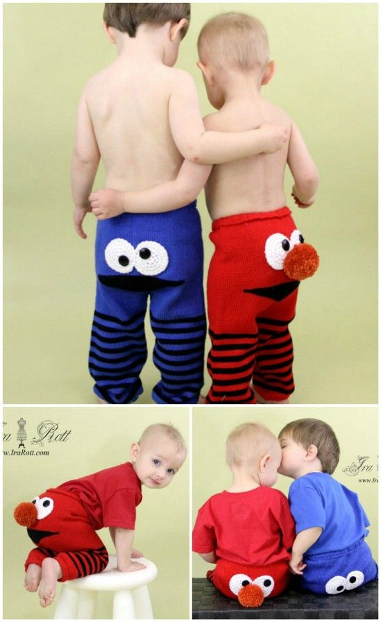 Knit These Adorable Monster Pants for Your Favorite Little Monster
