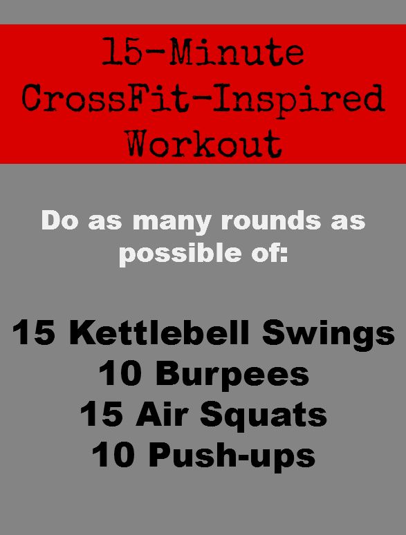 A Quick and Sweaty CrossFit Inspired Workout - great for fitting in on vacations in hotel gyms