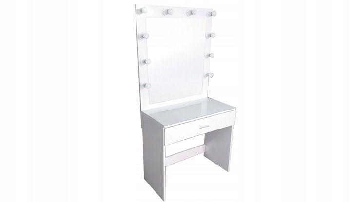 Toaletka Do Makijazu Wizazu Lustro Z Oswietleniem 7812128077 Oficjalne Archiwum Allegro Home Decor Vanity Decor