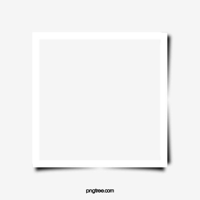 Borda De Moldura Quadrada Branca Clipart De Fronteira Quadro Armacao Imagem Png E Psd Para Download Gratuito Painted Picture Frames White Picture Frames White Square Frame