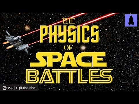 In the latest installment of It's Okay to be Smart, Joe Hanson talks about the physics of fictional space battles.