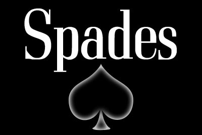 Spades Card Game.  Love playing this card game with a partner.