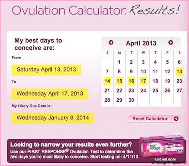 Due date calculator ovulation in Perth