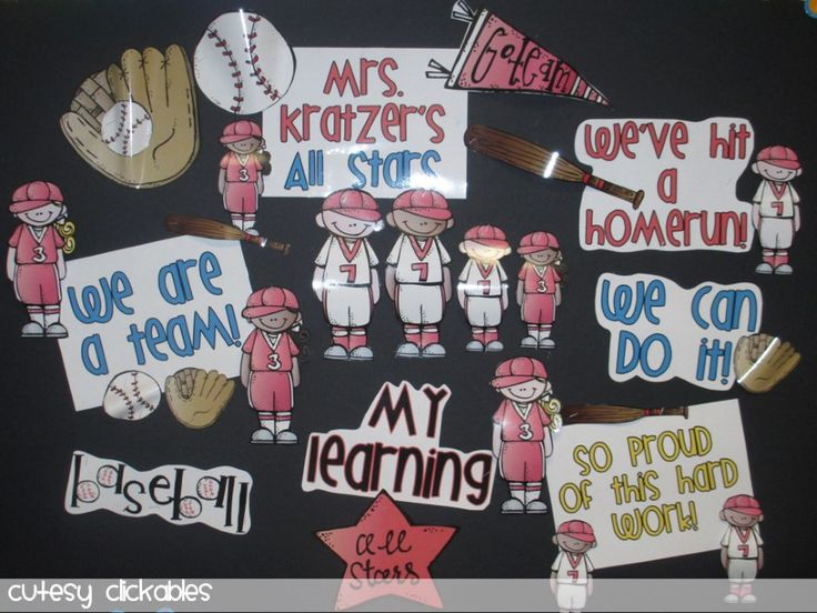 sports classroom theme - Google Search