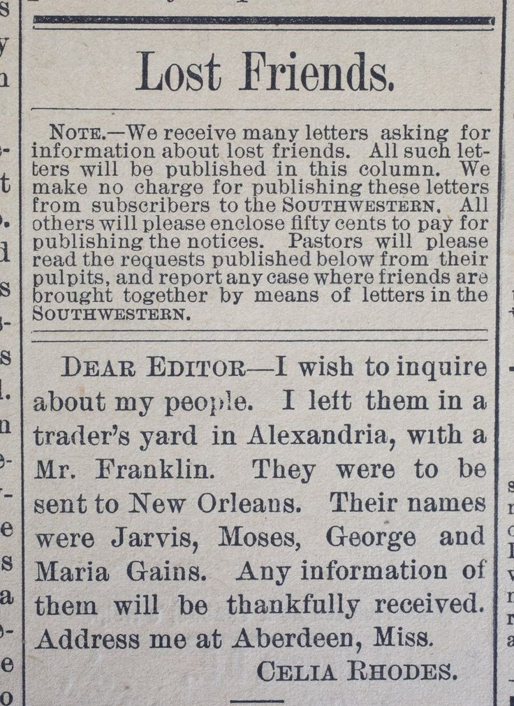 research newspapers new orleans Welcome to our louisiana family history research page  new orleans, louisiana,  louisiana newspapers & publications.