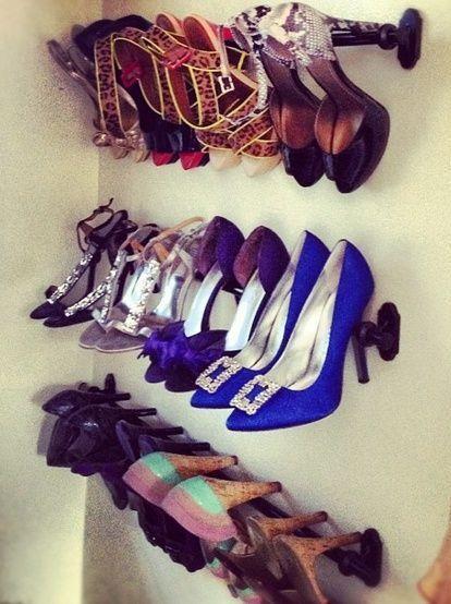 Scarpe in ordine