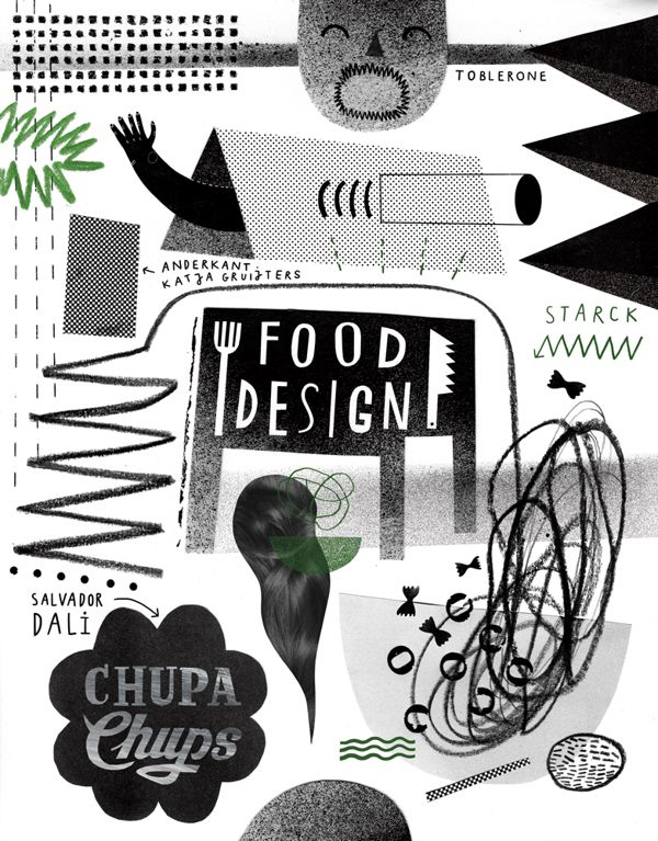 KUKBUK / FOOD DESIGN / 2013 by Agata DUDU Dudek, via Behance
