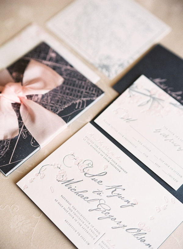 address wedding invitation unmarried couple%0A Washington DC Wedding at the Mandarin Oriental by Caroline Tran