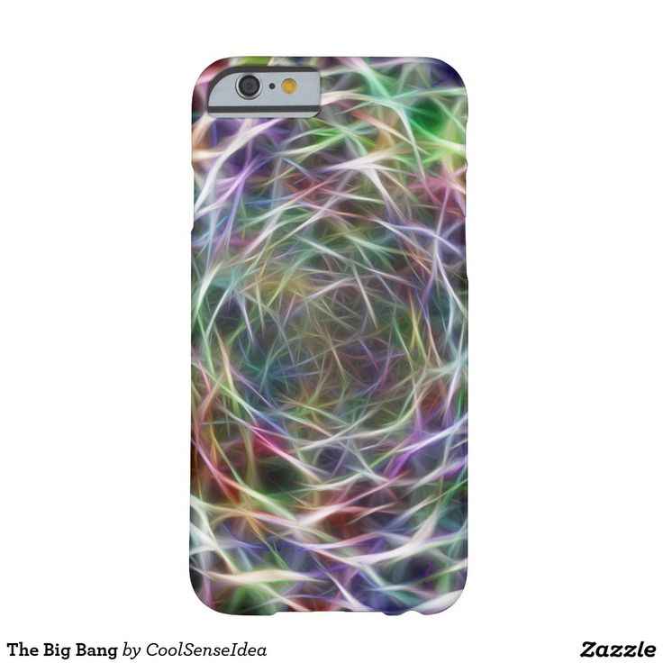 The Big Bang Barely There iPhone 6 Case