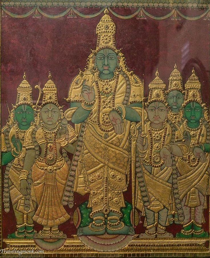 Kala Ksetram, Parthasarathi, tanjore painting, photo by...