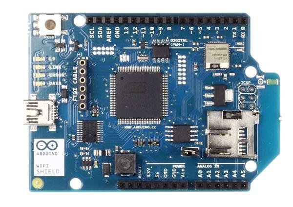 Arduino WiFi Shields