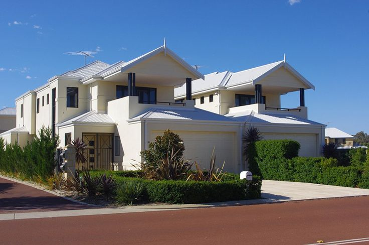 2 Double storey town houses built on small and difficult blocks in Mandurah WA