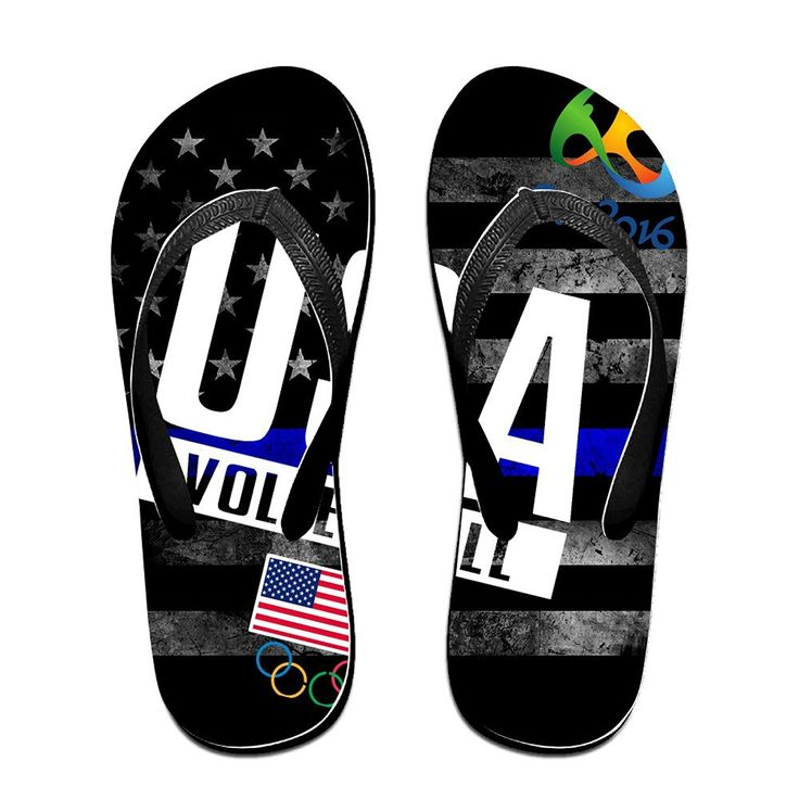 YYRBY Volleyball At 2016 Rio Summer Olympics Beach Flip-Flops Slipper Sandals ** Find out more about the great product at the image link.