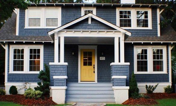 213 best exterior home pallettes images on pinterest for Home exterior makeover app