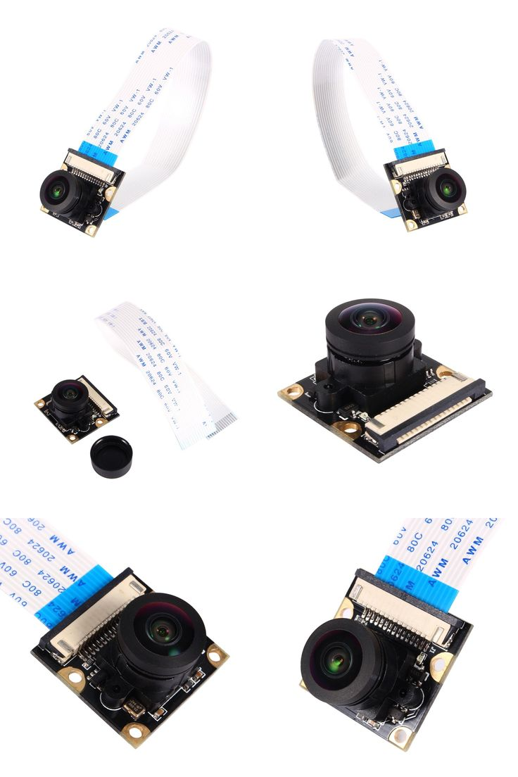 [Visit to Buy] Camera Module Board 5MP 175 Degrees Wide Angle Fish Eye Lenses For Raspberry Pi Model A Model B #Advertisement
