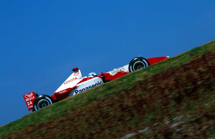 Mika Salo, Interlagos 2002, Toyota TF102
