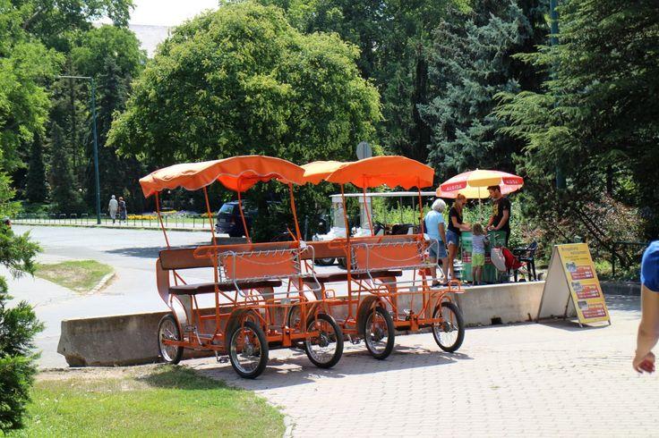 The bringo cart: a fun way to explore the island.