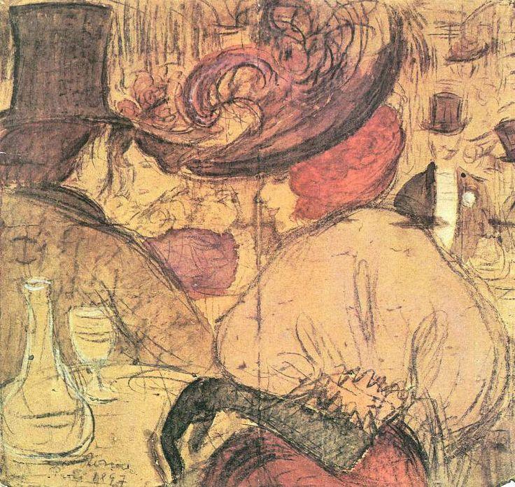 József Rippl-Rónai - Moulin Rouge 1897