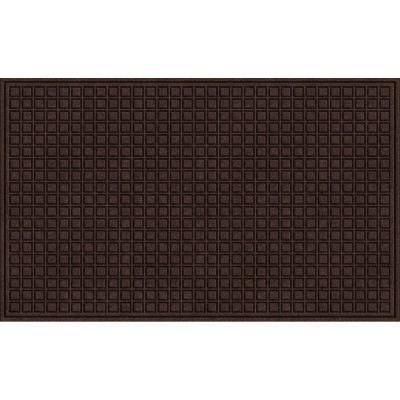 TrafficMASTER Brown 36 in. x 60 in. Synthetic Fiber and Recycled Rubber Commercial Door Mat-60-885-1403-30000500 - The Home Depot