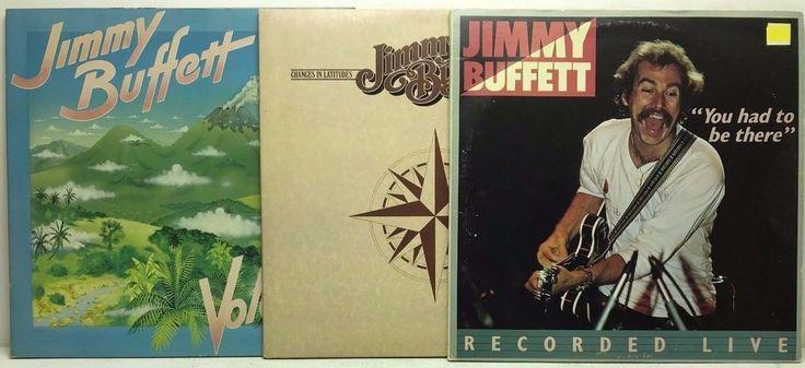 Jimmy Buffett LP Vinyl Record Album Lot: Volcano   Changes in Latitudes   Live stores.ebay.com/capcollectibles