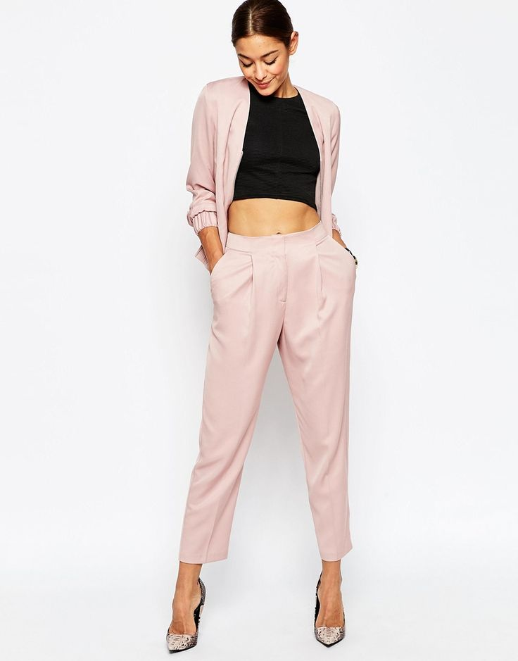 Image 1 of ASOS Tailored Peg Pants Co-ord