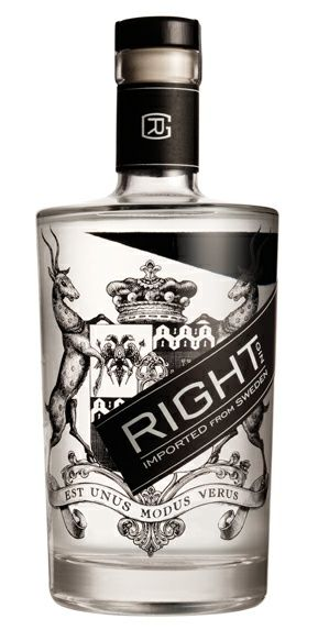 Right Gin designed by Walton Isaacson