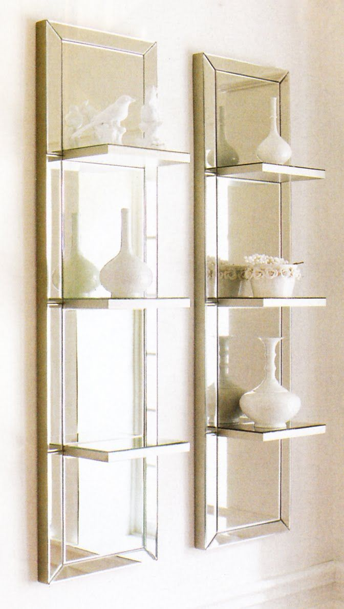 Master Bathroom Mirror Ideas Floating Shelves