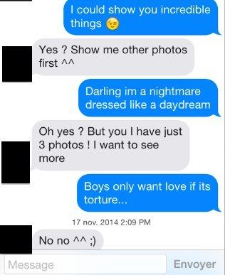 What Happens When You Only Answer With Blank Space Lyrics On Tinder