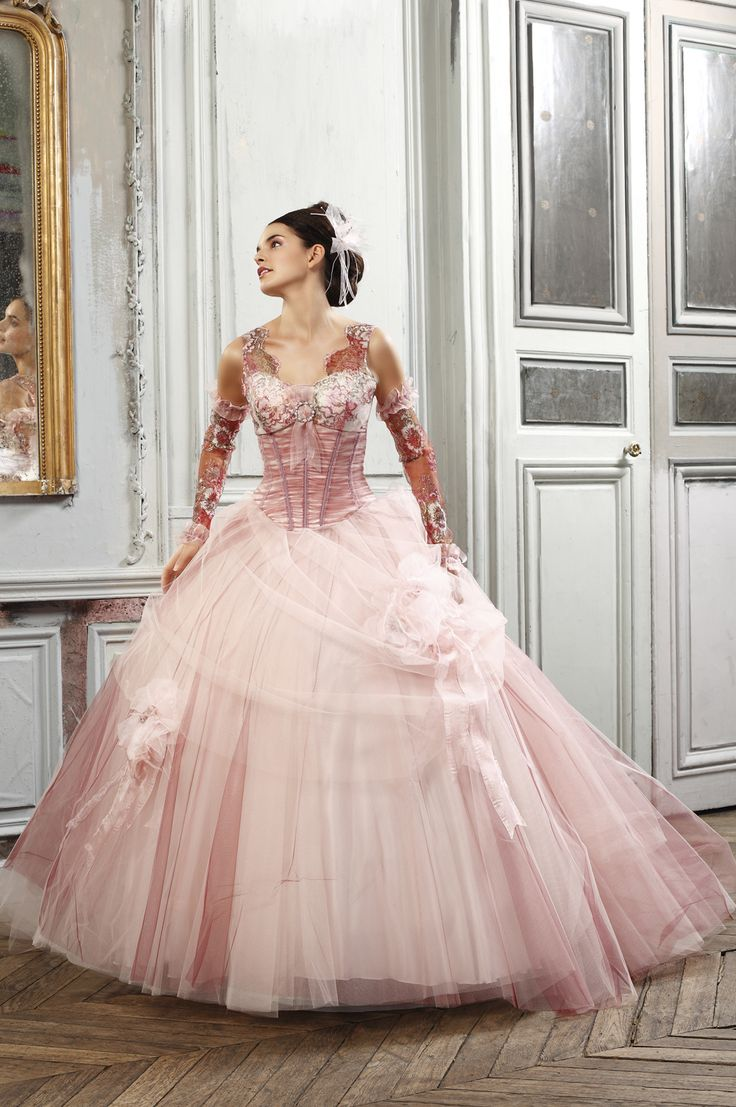 17 best images about orycon ideas on pinterest high low for Rose pink wedding dress