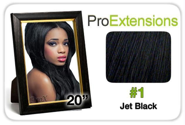 Pro Lace 20″, #1 Jet Black