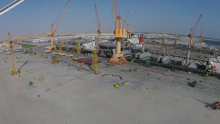 Bird view of Oman Drydock Company