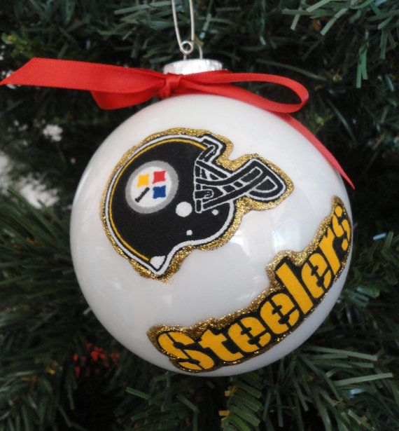 13 best Steelers christmas images on Pinterest | Glitter ornaments ...