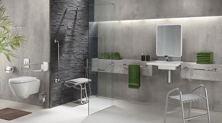 Aménagement salle de bain pour personnes handicapées et seniors.